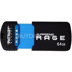 Supersonic Rage XT 64GB USB 3.0 Flash Drive 180MB/s Read 50MB/s Write