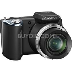 """SP-620UZ 16 MP Ultra Zoom Digital Camera with 21x Optical Zoom w/ 3"""" LCD (Black)"""