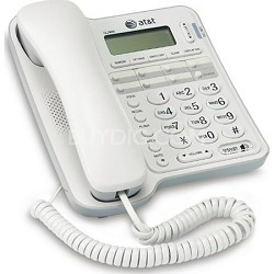 CL2909 1 Handset High Quality Corded Phone - White