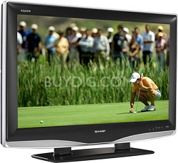 "LC-46D43U - AQUOS 46"" High-definition LCD TV"