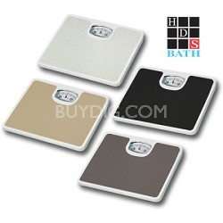 Bathroom Scale with Non-Skid Protection Assorted