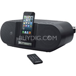 CD Boombox with Apple Dock Cradle (Lightning Connector)