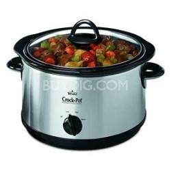5 qt. Round Crock-Pot Slow Cooker with Bonus Little Dipper