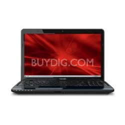 "Satellite 15.6"" L755D-S5160 Notebook PC - AMD Quad-Core A6-3420M Accel. Proc."