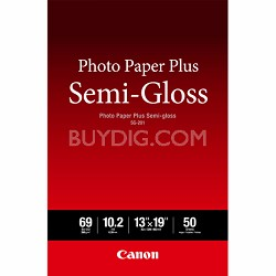 Photo Paper Plus Semi-Gloss SG201 13 x 19 (50 pcs) -OPEN BOX