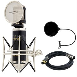 Studio Series Large Diaphragm 34mm Condenser Microphone w/Filter Bundle