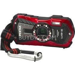 Optio WG-2 Red Waterproof Shockproof Coldrpoof Crushproof Digital Camera