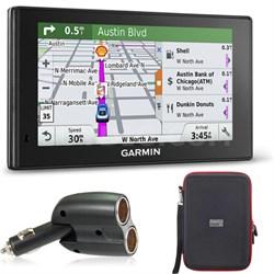 010-01538-01 DriveSmart 70LMT GPS Navigator Charger Bundle