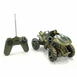 Full Function R/C Halo Mongoose w/ Master Chief Rider