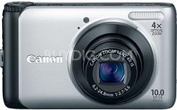 PowerShot A3000IS Digital Camera (Silver)