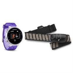 Forerunner 230 GPS Running Watch w/ Chest Strap HRM (Purple) 010-03717-43