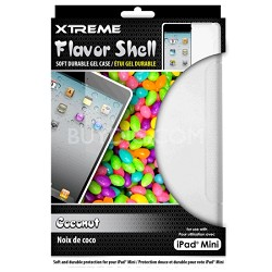 Coconut Flavor Shell Soft Durable Gel Case for the iPad Mini