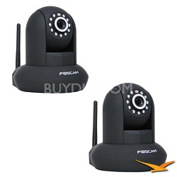 2 Pack FI8910W Wireless/Wired Pan & Tilt IP/Network Camera 2 Pack
