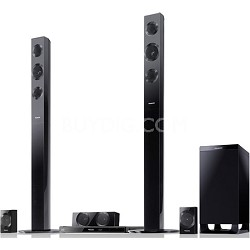 SC-BTT490 Home Theater System w/ Tall Speakers, Built-in WiFi, Universal Dock