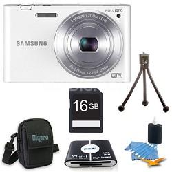 "MV900 Smart Touch Multi View 3.3"" LCD White Digital Camera Kit"
