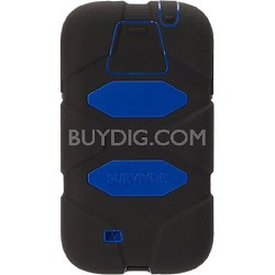 Survivor Case for Samsung Galaxy S5 - Black/Blue