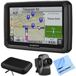 """dezl 770LMTHD 7"""" GPS with Lifetime Map and Traffic Updates Air Vent Mount Bundle"""