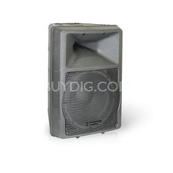 "ROX12 ABS Molded 12"" Two Way Loudspeaker Black"