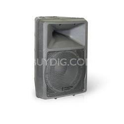 """ROX12 ABS Molded 12"""" Two Way Loudspeaker Black"""