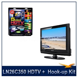 LN26C350 HDTV + High-performance HDTV Hook-up & Maintenance Kit