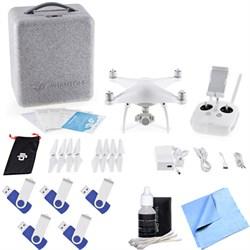 Phantom 4 Quadcopter Drone 80GB Storage Bundle