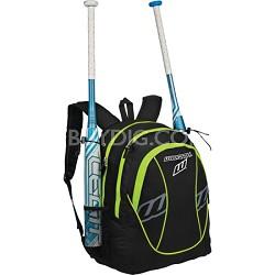 FPEX Softball Equipment and Bat Backpack Bag - Optic Yellow