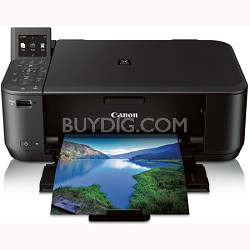 PIXMA MG4220 Compact Wireless All-In-One Color Inkjet Photo Printer (6224B002BA)