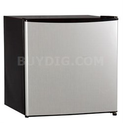 1.6 Cu. Ft. Single Reversible Door Refrigerator in Stainless Steel - WHS65LSS1
