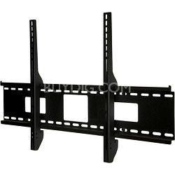 Flat Smart Mount for select X-large Flat Panel TVs (Black) - OPEN BOX