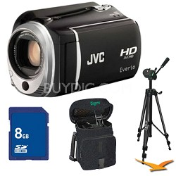 GZ-HD520B HD Hard Disk Camcorder 8GB Memory Bundle
