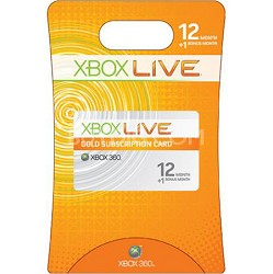 Xbox Live Gold Subscription Card: 12+1 Bonus Month