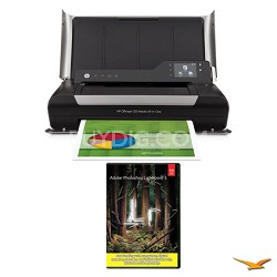 Officejet 150 Mobile All-in-One Printer with Photoshop Lightroom 5 MAC/PC