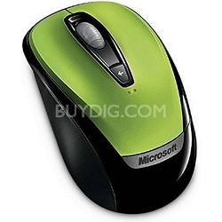 6BA-00022  - Wireless Mobile Mouse 3000 - Green