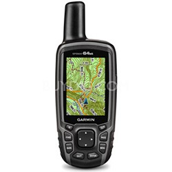 GPSMAP 64st Worldwide Handheld GPS 1 Yr. BirdsEye Subscription Preloaded US Maps