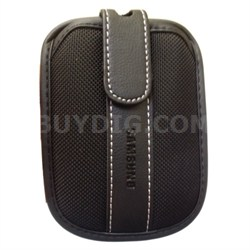 Soft Camera Case with Belt Loop and Velcro Flap