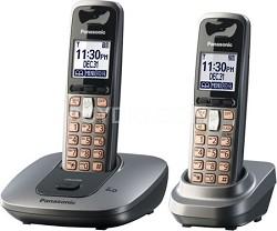 KX-TG6412M DECT 6.0 Expandable Digital Cordless Phone System
