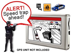 Turns Multiple GPS Units into a Red Light Camera&Speed Trap detectors for 1 Year