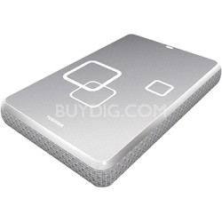 FOR MAC DS TS Radiant Silver 1TB Canvio USB 2.0 Portable External HDD