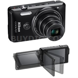 COOLPIX S6900 16MP Digital Camera w/ 12X Zoom + Wi-Fi (Black) Refurbished