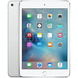 iPad Mini 4 Silver (16GB/Wi-Fi) MK6K2LL/A - NEWEST Late 2015 Release