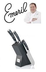 3-piece Forged German Steel Santoku Knife WARTER DAMGE***FINAL SALE NO RETURN **