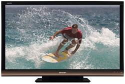 """LC-60E77UN - AQUOS 60"""" High-definition 1080p 120Hz LCD TV"""