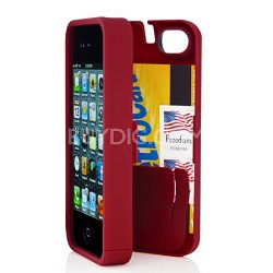 Case for iPhone 4/4S - Red