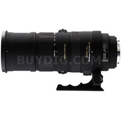 150-500mm F/5-6.3 APO DG OS HSM Autofocus Lens For Sigma - OPEN BOX