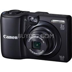 PowerShot A1300 16MP Black Digital Camera w/ 5x Zoom & 720p HD Video