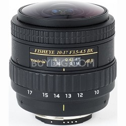 AT-X AF 10-17mm f3.5-4.5 DX Fisheye Lens (No Hood) for Canon Digital SLR Cameras