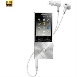NWA27HNSM 64GB Hi-Res Walkman Digital Music Player w/ Noise Cancelation - Silver