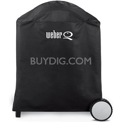 Premium Grill Cover, Fits Weber Q, Q-200, and Q-220 with Cart