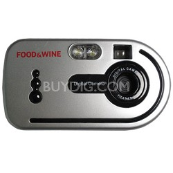 3 in 1 Digital Camera with USB Cable - Blue