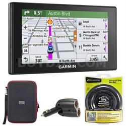 010-01538-01 DriveSmart 70LMT GPS Navigator with GPS Bundle